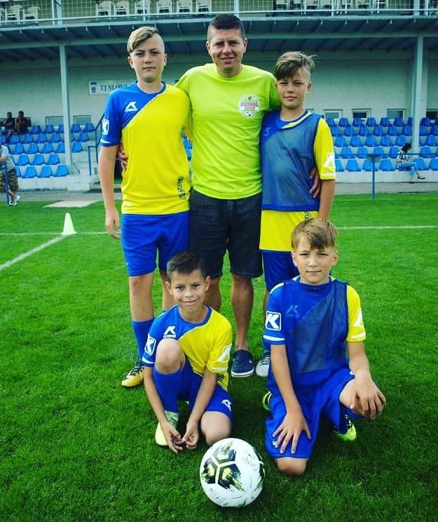 "623ab4b49 Marek Tajber – zakladateľ OZ Futbal deťom. """
